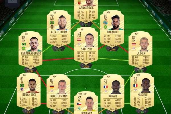 FIFA21UT模式阵容游戏攻略