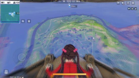 跳伞模式游戏攻略
