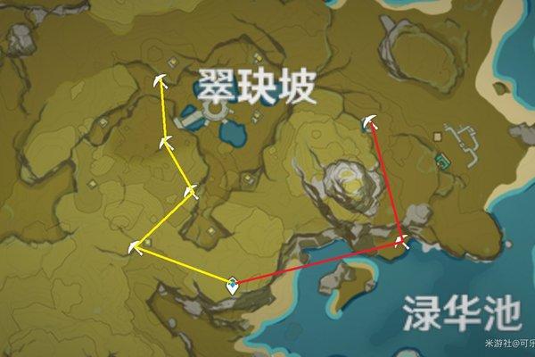 原神翠玦坡挖矿游戏攻略