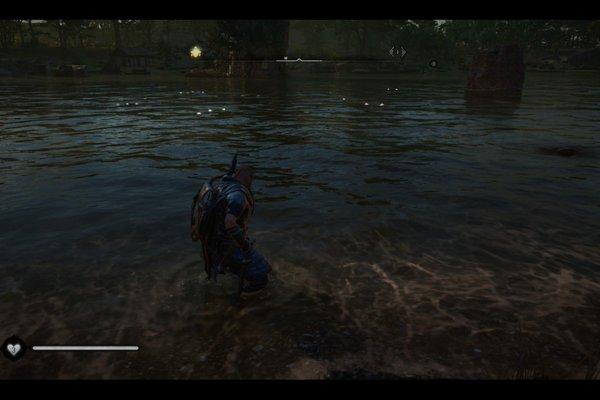 刺客信条英灵殿大头鲇鱼位置游戏攻略