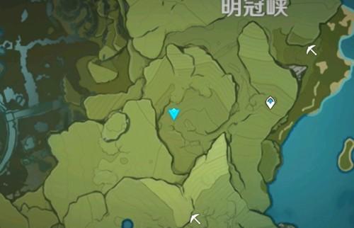 原神明冠峡特殊宝藏位置游戏攻略