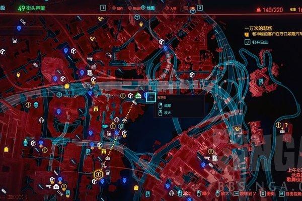 赛博朋克2077霰弹枪莫克斯在哪里游戏攻略