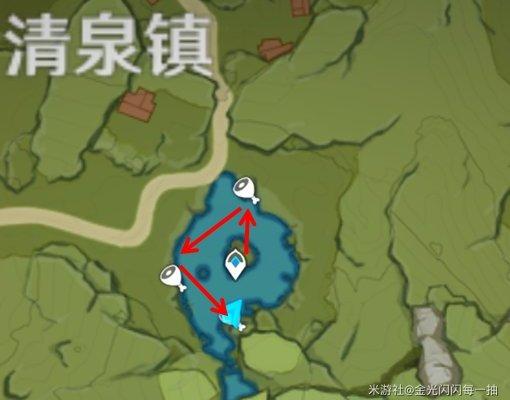 原神青蛙采集路线游戏攻略