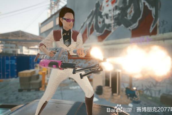 赛博朋克2077金古寺联名轻机枪游戏攻略