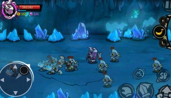 失落城堡  冰窖密道冰岩巨人打法解析游戏攻略
