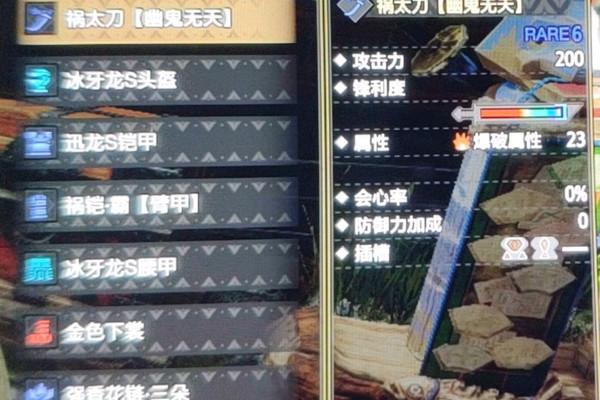 怪物猎人崛起怨虎套配装游戏攻略