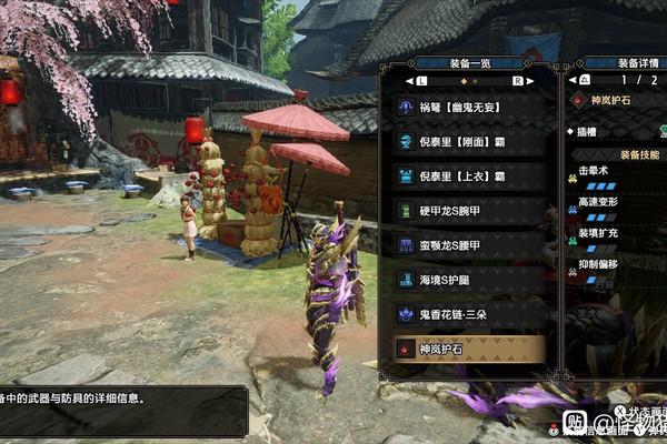 怪物猎人崛起控制轻弩配装分享游戏攻略