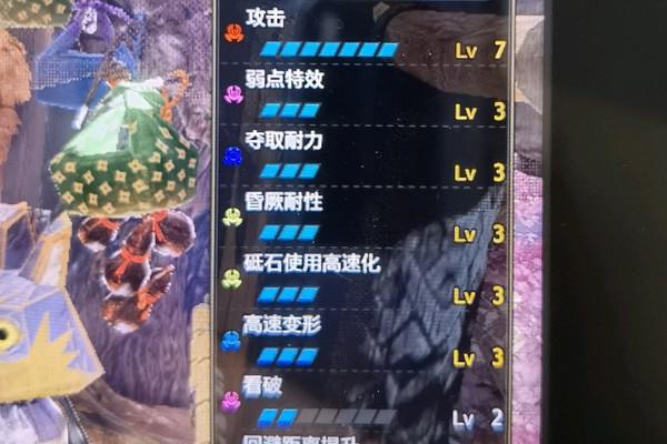 怪物猎人崛起斩斧攻7弱特3配装解析游戏攻略