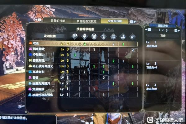 怪物猎人崛起斩斧攻7弱特3配装方案游戏攻略